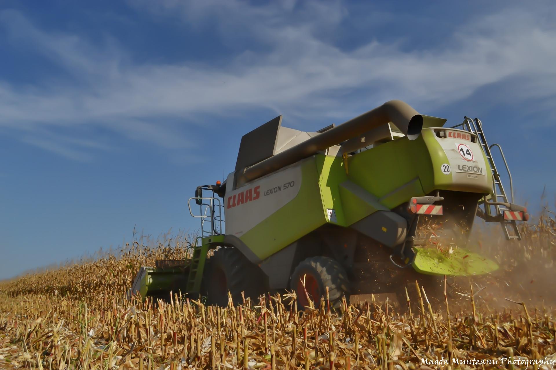 Harvesting works